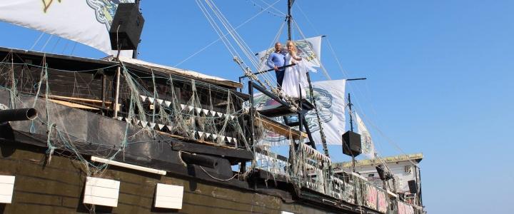 Детские анимационные праздники на пиратском корабле в Несебре